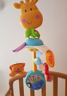 Carrusel Musical - Movil de cuna para Bebés - Marca Fisher Price