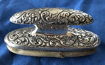 Beautiful Antique 1914 Sterling Silver Nail Buffer Gotham Manufacturing Company