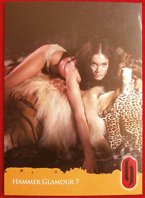 HAMMER HORROR GLAMOUR - Card C7-S2 - Martine Beswicke - Strictly Ink 2010