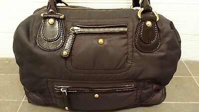 4ccce8fbfd8 TOD'S PASHMY BROWN Nylon Extra Large Hobo/Shoulder Bag with Dust ...