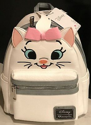4f663cfb0d0 LOUNGEFLY DISNEY THE Aristocats Marie Floral Mini Backpack Bag NWT ...