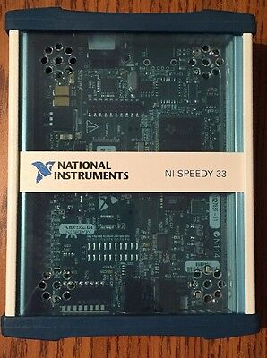 National Instruments Ni Speedy-33 For Ni Labview Dsp Module Mint Condition
