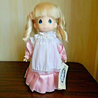 Precious Moments 1993 Vinyl PINK MISSY Doll With Tag