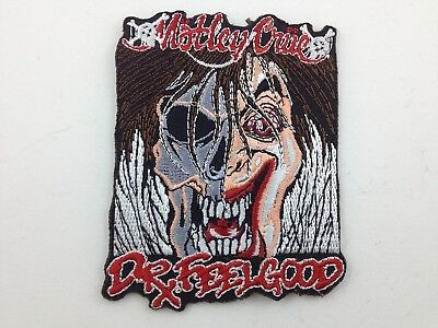 Motley Crue Embroidered Patch ~ Dr Feelgood