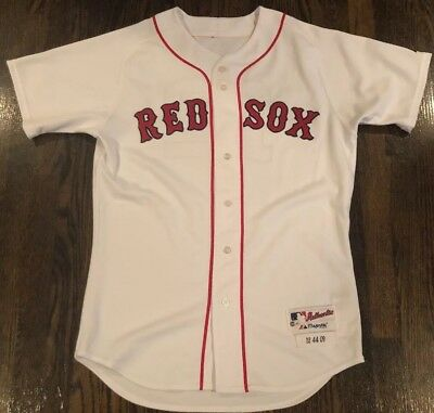 ef3fd45c5 2009 Boston Red Sox Game Worn Used Alds Playoff Jersey  Jed Lowry  Mlb