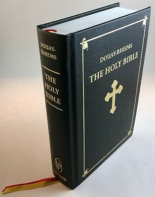 Books Antiques Bright Antique 1859 Catholic Bible Douay Rheims Original Nice