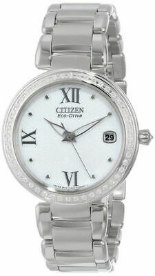 """Citizen Women's EO1100-57A """"Marne Signature"""" Stainless Steel Eco-Drive Watch wit"""