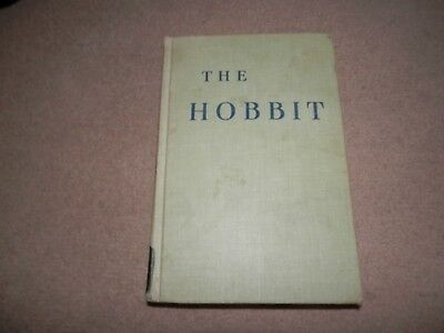 JRR Tolkien The Hobbit 1st / 12th Houghton Mifflin 1961 Hardback