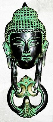An Antique Vintage Style Brass Door Knocker Handmade Door Buddha Knocker India