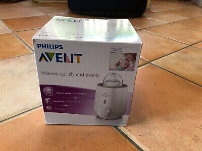 Phillips Avent Baby Bottle Warmer New warms defrosts food/ milk fast
