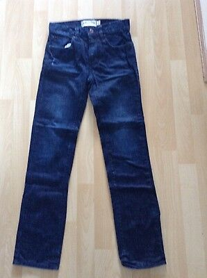 "Boys Size 26"" Waist Long Blue Jeans by Johnnie B"