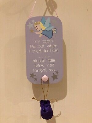 Tooth Fairy Sign And Bag