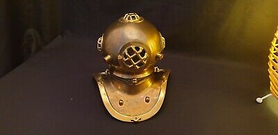 Brass Divers Helmet Replica Large Size Perfect Condition
