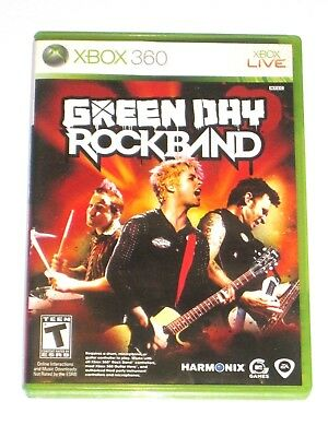 Xbox 360 Live Green Day Rock Band Video Game Microsoft Complete 2010