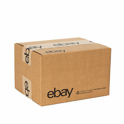 "Official eBay-Branded Boxes With Black Color Logo 10"" x 8"" x 6"" New Edition"