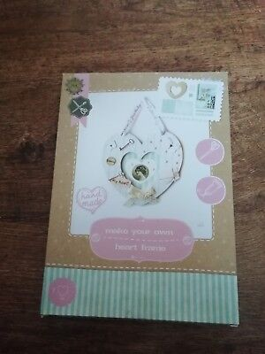 The works make your own heart frame new & sealed