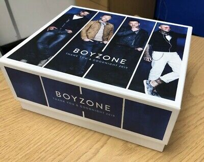 Exclusive VIP Boyzone Thank You and Goodnight 2019 Tour box