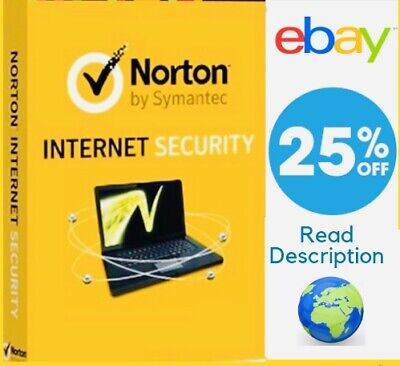 Norton Internet Security 2019 ✅ 1 Pc 1 Year Code Global ✅ Download