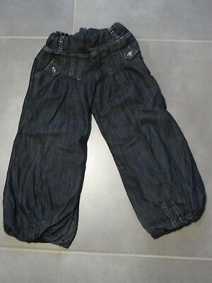 Pantalon jeans style baggy gris anthracite, SHINY Taille 5 Ans