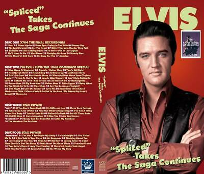 Elvis Spliced Takes The Saga Continues 4 CD Set Brand New IN STOCK