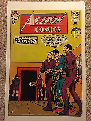 Action Comics #319 Superman. Shrinking Violet Appearance. Very Good