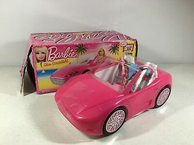Barbie Glam Convertible Pink 2010 Mattel