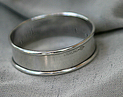 Antique Sterling Silver Napkin Ring Holder Late 1800s