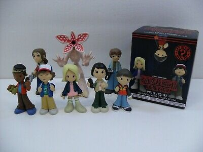 Funko Mystery Minis Stranger Things Lot of 8 Eleven Mike Dustin Will Lucas Demo