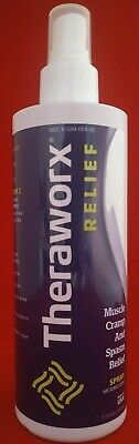 Theraworx Relief Spray Muscle Cramp and Spasm Relief Clinically Proven