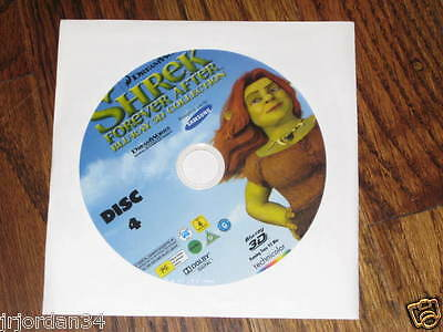 Shrek Forever After 3d  Blu Ray  Disc 4 Only in paper sleeve