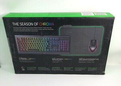 RAZER CYNOSA CHROMA - Multi-color RGB Gaming Keyboard - RZ03