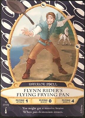 Sorcerer of the Magic Kingdom Card #7 Flynn Rider's Flying Frying Pan +2 - New