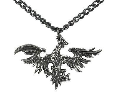 Mettle Eagle Pendant (Rare/Retired) - Alchemy Gothic Metal-Wear Totem/Talisman