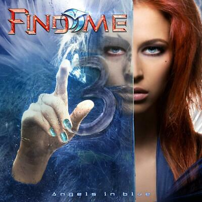 CD Find Me - Angels In Blue (2019 new release) AOR Hard Rock Fast FREE Shipping