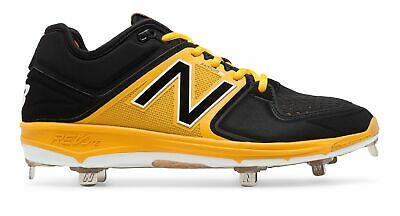 232c33670b5 New Balance Low-Cut 3000V3 Metal Baseball Cleat Adult Shoes Black With Red