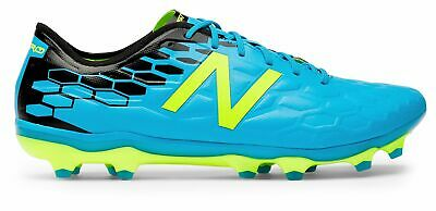 0d641edbffc2c New Balance Men's Visaro 2.0 Pro Fg Soccer Cleat Shoes Blue With Yellow/ Black