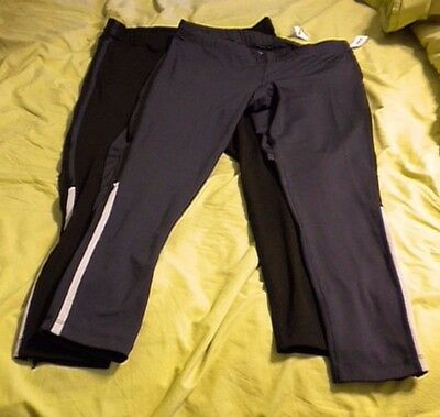 Women's Old Navy Active- Set of Two Fitness Running Leggings- NWT- Size Large