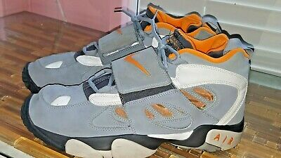 sports shoes 1fa15 bd6a7 Nike Air Diamond Turf 2 II Deion Sanders 49ers 487658 White Gray Men s Size  12
