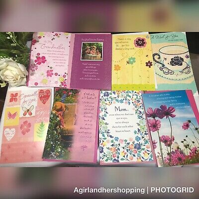 Mothers Day Greeting Cards American Bulk Wholesale Resell Lot Of 30 New