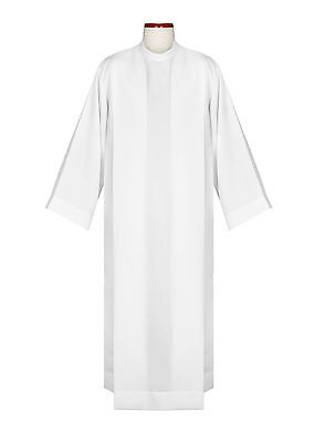 Pastor/Priest White Alb medium weight