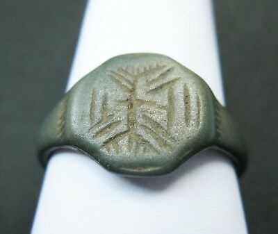 Medieval  Ring Tin Bronze AUTHENTIC