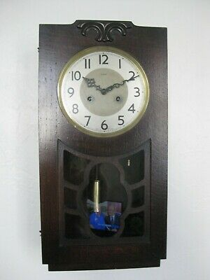 ENFIELD Striking Wall Clock - Perfect working order. Early 50s