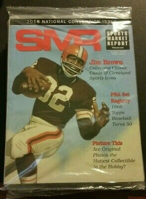 2018 Sports Market Report / National Convention Issue / SMR / SIP / Jim Brown