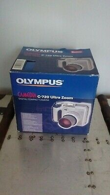 Olympus C-720 Ultra Zoom Digital Compact Camera case, Carry Strap & A4 manual