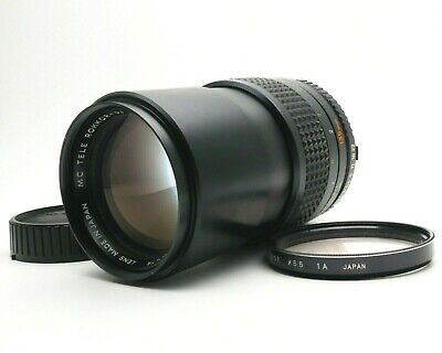 【Exc+4】Minolta MC TELE Rokkor-PF 135mm f/2.8 Lens for MD MC mount From JAPAN #27