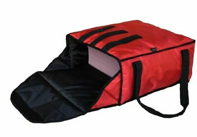 "PACK OF 5 PIZZA DELIVERY BAGS - EXTRA WARM- FULLY INSULATED -  L18"" x W18"" x H8"""
