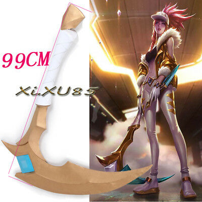 The Rogue Assassin Akali's Cosplay Costume Props KDA Akali Weapons Halloween