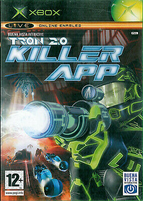 TRON 2.0 Killer App Microsoft Xbox 12+ Action FPS Shooter Game