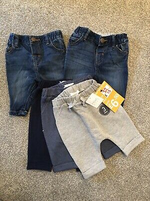 Brand New Baby Boys Next Jogger And Jeans 0-3 Months