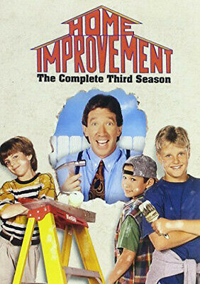 Home Improvement: The Complete Third Season (Season 3) (3 Disc) DVD NEW